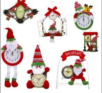 Christmas Gift Decoration Clock Xmas toy for children