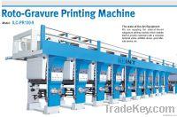 ROTO-GRAVURE PRINTING MACHINE