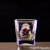 glass cup, glassware, glass tumbler