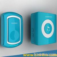 2013 piano design waterproof and LED light wireless doorbell