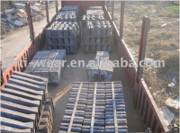 Dia 4m Cement Mill Liner Castings With Better Surface DF090
