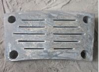 Cr-Mo Alloy Steel Grates for Cement Mill DF111