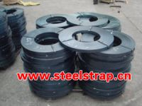 blue tempered steel strapping