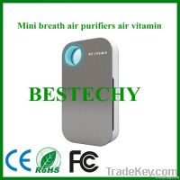 ozone toilet odor eliminator with light sensor
