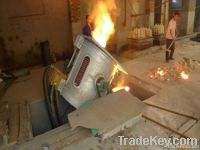 mini scrap iron melting furnace