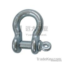 screw pin anchor shackle u.s.type/JIS TYPE SCREW PIN DEE SHACKLE