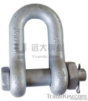 screw pin anchor shackle u.s.type/JIS TYPE SCREW PIN DEE SHACKLE