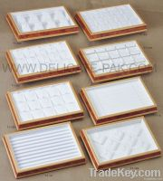 Fashionable wooden display tray