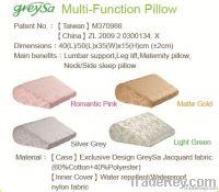 Leg Wedge Pillow-Silver Grey