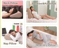 Leg Wedge Pillow+Multi-Function Pillow-Romantic Pink
