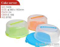 Plastic Cake Server Cake Cover