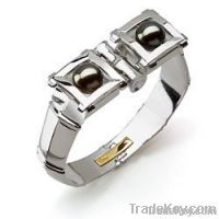 Bamboo Sterling Silver Bracelet