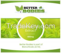 Better bodies high strength green tea extract weight loss capsule