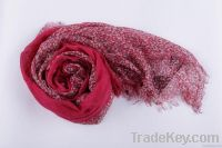 Floral scarf for lady