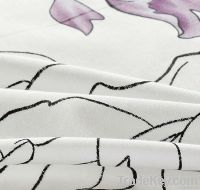 100% cotton jacquard fabric/textile for home textile and hotel bedding