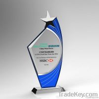 New Design Blank Star K9 Crystal Award