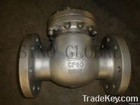 Swing operated Industrial Check Valve