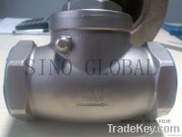 Hastelloy Threaded Swing Check Valve