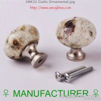GIALLO ORNAMENTAL GRANITE KNOB
