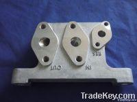 aluminum alloy die casting train parts