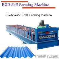 New type 14-180-900 1080 roof tile panel roll forming machine