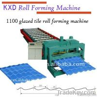 late-model glazed tile machine for color material