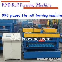 New type 735 corrugated glazed tile roll forming machine supplier in b