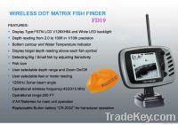 Wireless Dot Matrix Fish Finder