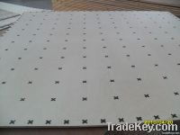 Carpet gripper/underlayment plywood