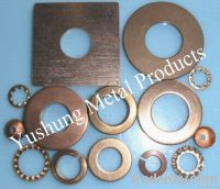 Silicon bronze flat washer, belleville washer, spring washer, teeth washe