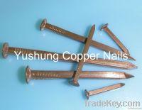 Copper roves & copper square boat nails