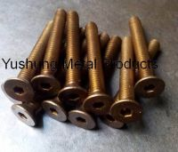 SILICON BRONZE FLAT SOCKET CAP BOLTS