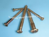 Silicon Bronze Slotted Round Head Wood Screws