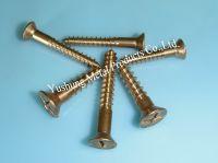 Silicon Bronze R&P Flat Head Wood Screws
