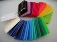 colored cast acrylic sheet