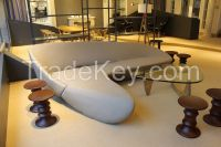 Moon Sofa From Moon System Sofa by Zaha Hadid Moon sofa with ottoman