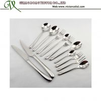 Stainless steel cutlery flatware set