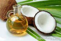 Refined and crude coconut oil
