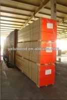 Laminated scaffold planks