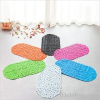 Pebble pvc bath mat