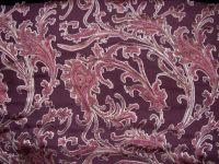 burn-out velvet;     silk satin