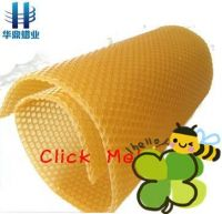 beekeeping equipment 100% nature beeswax foundation for bee hive