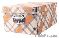 foldable cardboard storage box