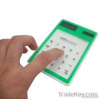 Transparent Touch Screen Promotional Calculator