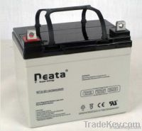 UPS Lead Acid Battery 12V-33ah (ISO, CE, UL, RoHS)