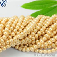 Eye-catching pearl glass strands 2013