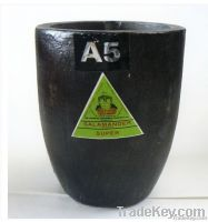 High Purity Graphite Crucible for melting gold , silver, copper , zinc,