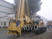 Rotary Drilling Machine Foundation Pile Equipment Original CAT TR220D Rigs