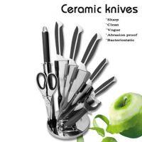High quality Ceramic knife 8 pcs sets Kitchen Knives diffirent colour Sharp