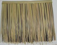The synthetic PVC plastic thatched straw